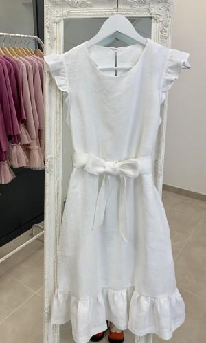 """Lininė suknelė """"Sparnuota"""""""